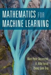 Text Book - Mathematics for Machine learning